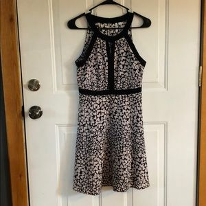 ELLE Heart Print Dress